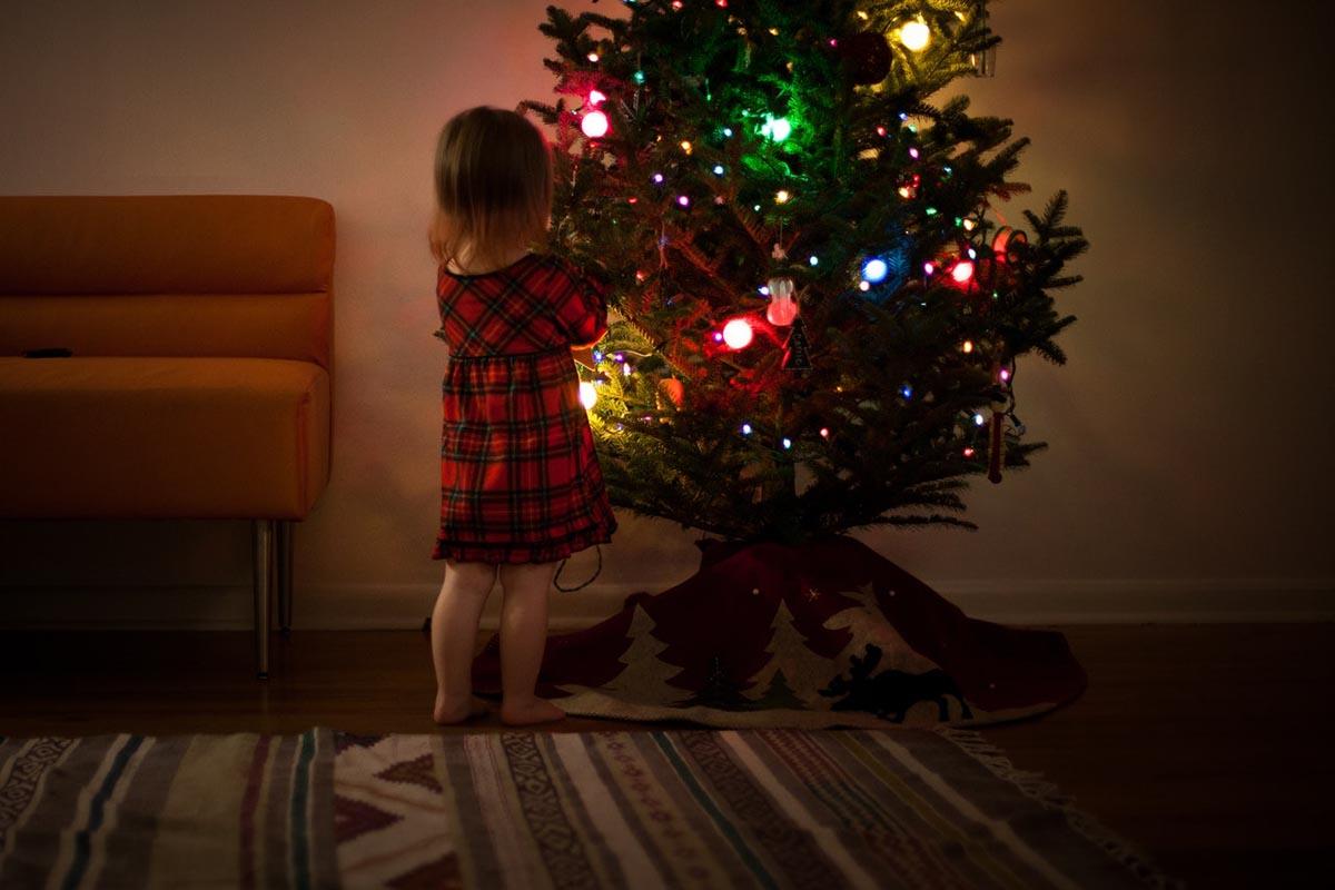 Így volt hang nélkül zenélő karácsonyfám Szenteste